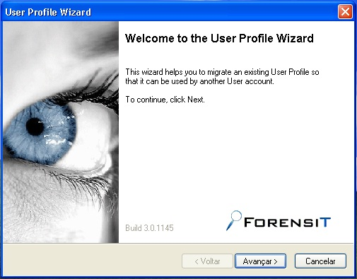 Forensit User Profile Wizard