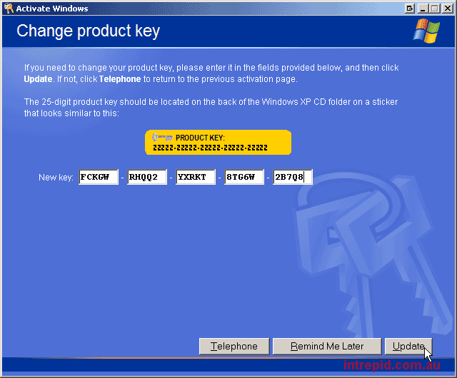 Windows xp home sp3 serial key for Window xp key